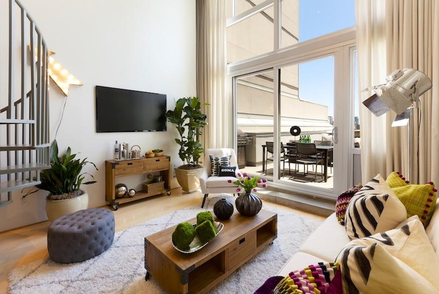 Yerba Buena Lofts #541 Terrace by Mike Broermann GroupMB San Francisco Real Estate